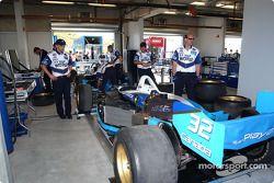 Garage de l'équipe Player