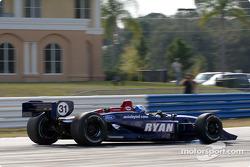 Ryan Hunter-Reay goes sideway