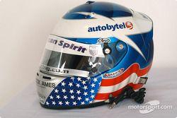 Ryan Hunter-Reay's helmet