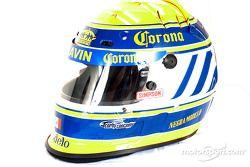 Rodolfo Lavin's helmet