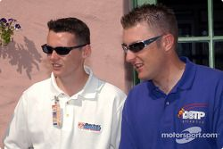 Albert Unser and Joey Hand