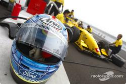 Joel Camathias' helmet