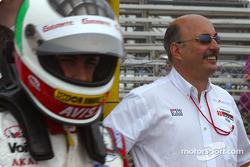 Michel Jourdain Jr. and Bobby Rahal