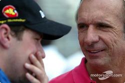 Tiago Monteiro and Emerson Fittipaldi