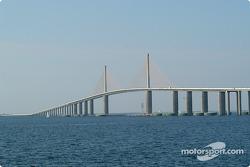 Sunshine Skyway Bridge, over Tampa Bay