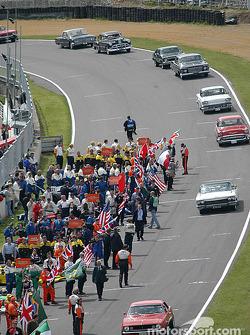 Ceremonias previas a la carrera