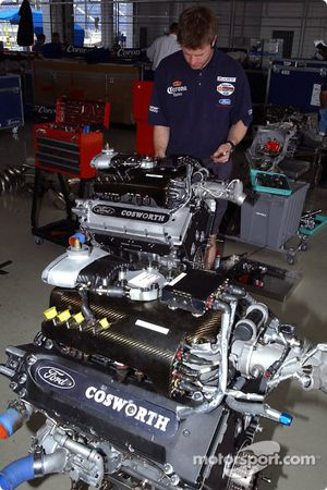Motor von Ford Cosworth