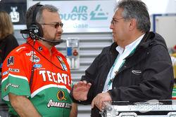 Gustavo del Campo and Arturo Romero