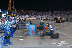 Team Players ready for a double pitstop
