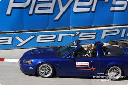 Parade de la voiture de lancement officielle du Champ Car