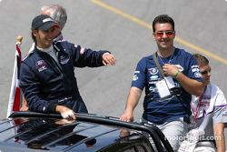 Drivers parade: Darren Manning