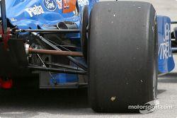 Bent suspension for Alex Tagliani