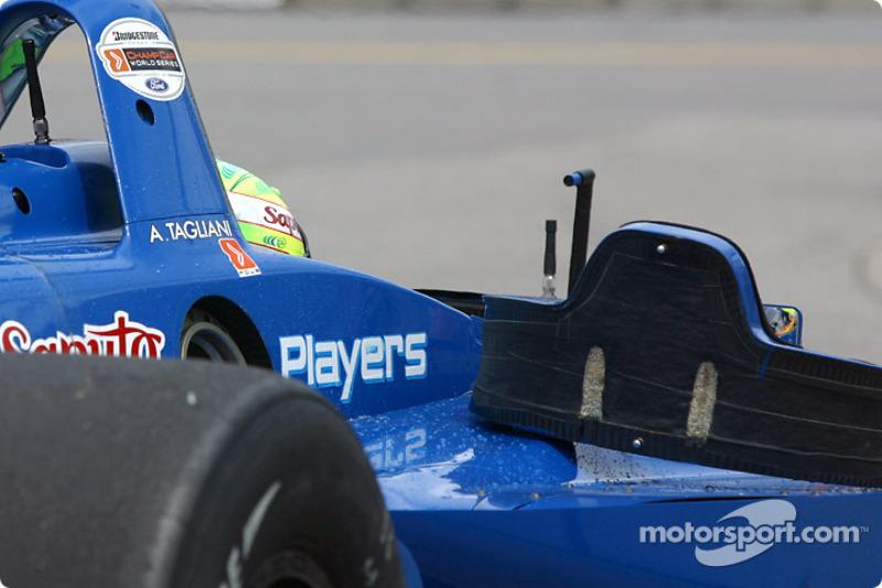 Alex Tagliani encore dans la voiture