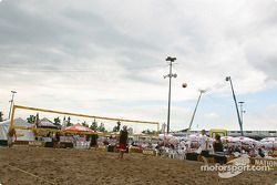 Beach Volley sur Thunder Alley