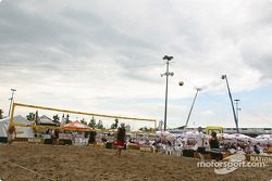 Beach Volley sur Thunder Alley