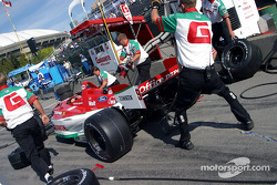 Pitstop practice at Team Rahal
