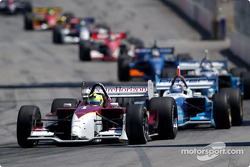 Bruno Junqueira leads Paul Tracy