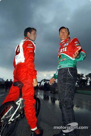 Michel Jourdain Jr. and Adrian Fernandez