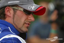 Rocketsports-Tagliani karting event: Alex Tagliani after his demo run
