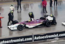Bruno Junqueira back on pitlane