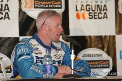 Third place Paul Tracy