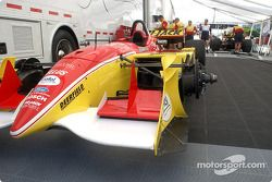 Conquest Racing paddock area