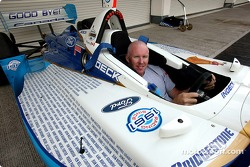 Paul Tracy dans la voiture Thanks Fans