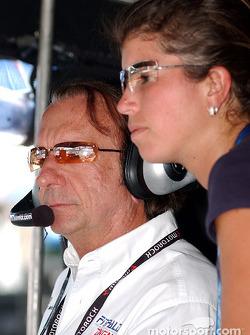 Le grand Emerson Fittipaldi, désormais propriétaire d'équipe