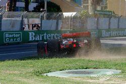 Tiago Monteiro takes a short cut