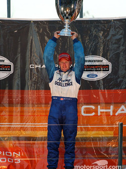Podium : Paul Tracy, champion de ChampCar 2003