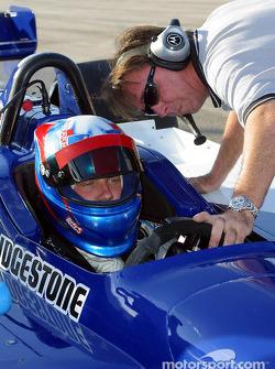 Ryan Dalziel teste avec Walker Racing