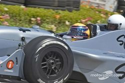 Roberto Moreno emmène Tom Cruise dans la Champ Car bi-place