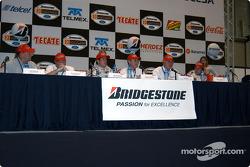 Conférence de presse Bridgestone