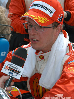 Race winner Sébastien Bourdais
