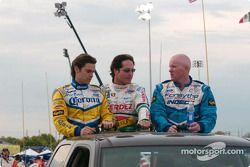 Présentation des pilotes : Rodolfo Lavin, Mario Dominguez et Paul Tracy