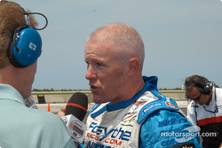 Pole winner Paul Tracy