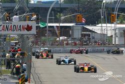 Restart: Sébastien Bourdais leads the field