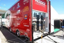 Le camion Herdez