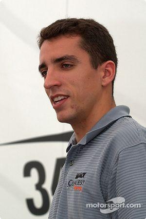 Justin Wilson, pilote de la Lola n°34 du Mi-Jack Conquest Racing
