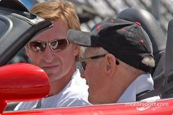 Paul Newman et Wayne Gretzky