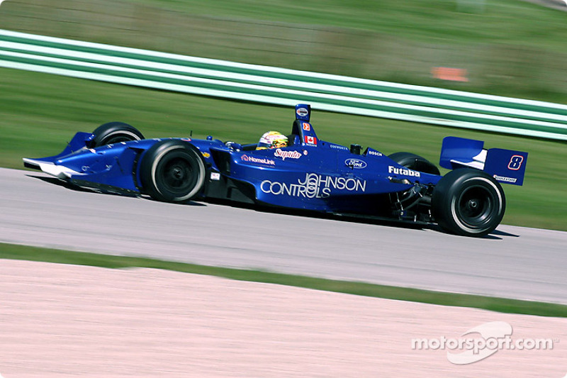 Alex Tagliani scored his and Rocketsports' only win in Indy cars at Road America in 2004.