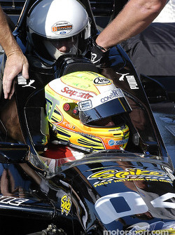 Champ Car 2-seater experience: Alex Tagliani takes a guest for a drive