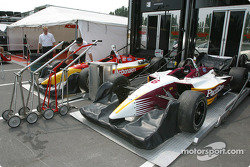 Newman/Hass Racing cars unpacked
