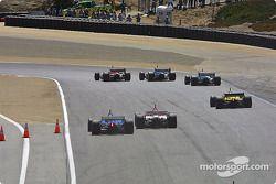 First corner: Sébastien Bourdais leads the field