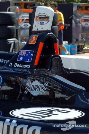 L'Australien David Besnard s'essaie au ChampCar