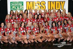 BarterCard Miss Indy : photo de famille