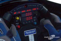 Le cockpit de Paul Tracy