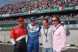 Jimmy Vasser, Paul Tracy, Cristiano da Matta and Emerson Fittipaldi
