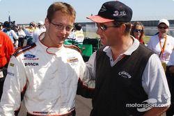 Nigel Mansell and Sébastien Bourdais