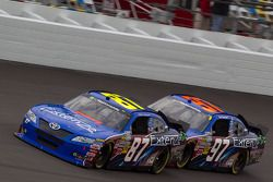 Kevin Conway, Nemco Motorsport Toyota and Joe Nemechek, Nemco Motorsport Toyota
